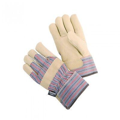 Winter Thinsulate 100Gram Grain Leather Work Glove   Free Shipping