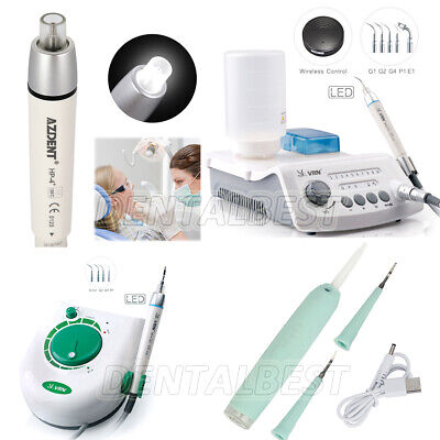 Dental Ultrasonic Piezo Scaler Led Automatic Handpiece Led Tooth Cleaner Scaler