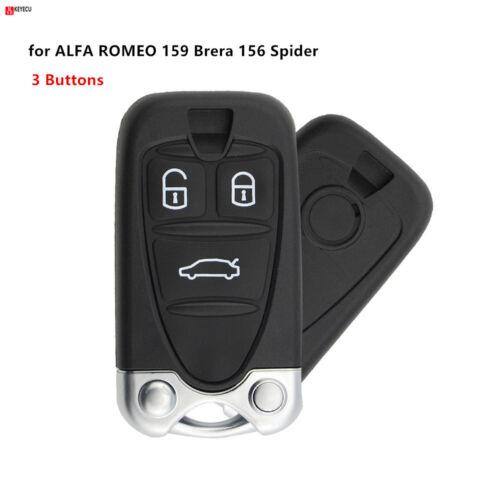 for ALFA ROMEO 159 Brera 156 Spider 3Button Remote Control Housing Car Key shell