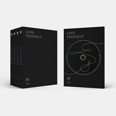 BTS - LOVE YOURSELF 轉 Tear [Y+O+U+R ver. SET] 4CD+4Poster+Gift+Tracking no.
