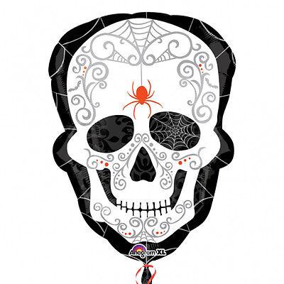 Halloween Day of Dead Supershape Foil Balloon Decoration Skeleton Skull Balloon