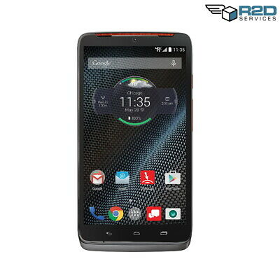 Motorola Droid Turbo - Grey with Metallic Orange accents - 32GB - (Verizon)