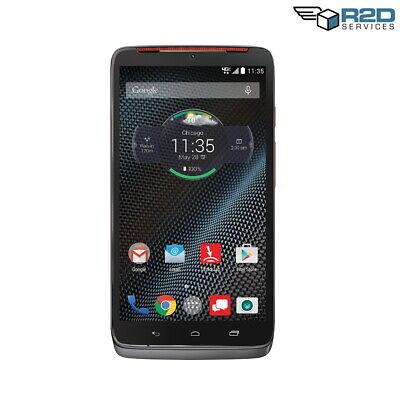 Motorola Droid Turbo - Grey with Metallic Orange accents - 32GB - (Verizon)
