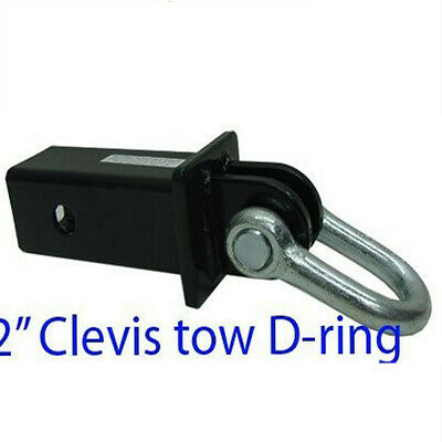 2 Hitch Clevis Tow D-ring Shackle Bow 5000lb Capacity