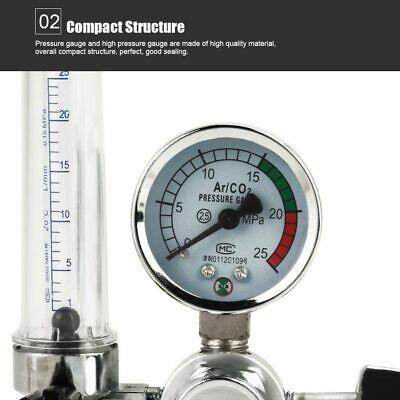 Argon Co2 Pressure Gas Mig Tig Flow Meter Regulator Welding Gauge Welder New Us