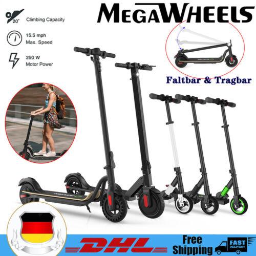 Megawheels Faltbar Elektroroller Erwachsene City Roller E-Scooter Tretroller DE