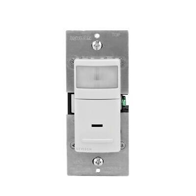 Leviton Decora Motion Sensor In-wall Switch Single Pole Whiteivorylight Almond