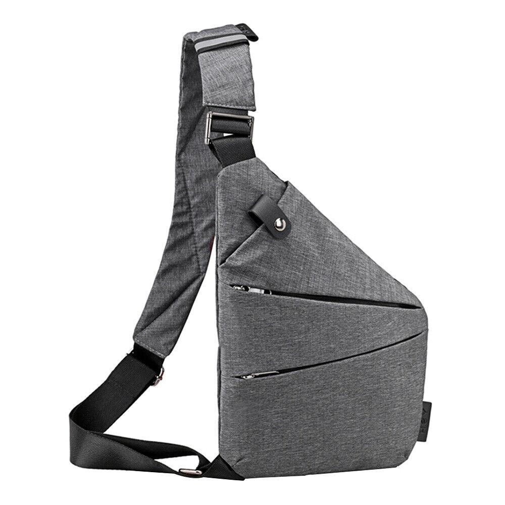 Personal Canvas Anti-Theft Backpack Shoulder Pocket Crossbod