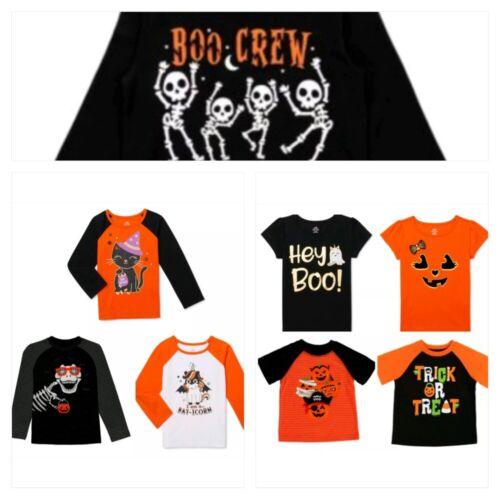 Girls Boys Halloween T Shirt Tee Short Long Sleeve Costume 12M 18M 2T 3T 4T 5T