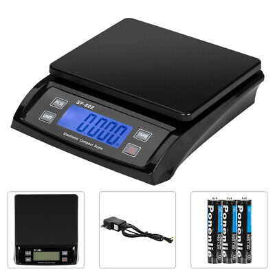 66 Lb X 0.1 Oz Digital Postal Shipping Scale Weight Postage Kitchen Lcd Adapter