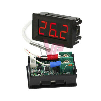 B310 Red Digital Thermometer 12v Temperature Meter K-type Thermocouple Tester