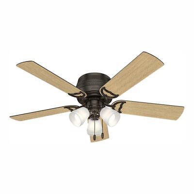 Hunter Fan Company Prim Low Profile 52-Inch Ceiling Fan w/ 3