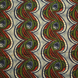 Tribal print fabric, Nigerian fabric, African Print Fabric By the Yard, Sewing