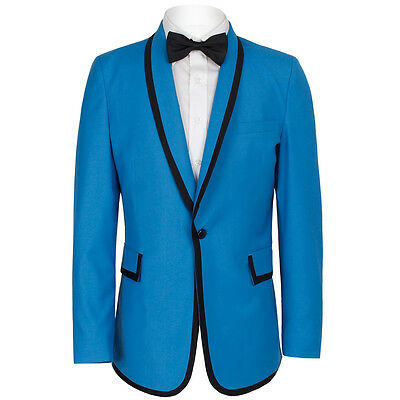 Gangnam Style Jacket Halloween (OnTrends Famous Halloween Day PSY Gangnam Style Blue Tuxedo Jacket & Bow-tie)
