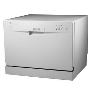 RCA Countertop Dishwasher 6 Place Setting Capacity RDW 3208