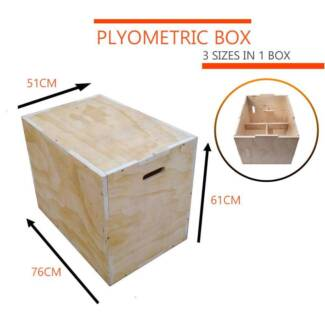 """Plyometric Box Plyo Jump Boxes 20"""" 24"""" 30"""" Fitness Home Gym Cross Revesby Bankstown Area Preview"""