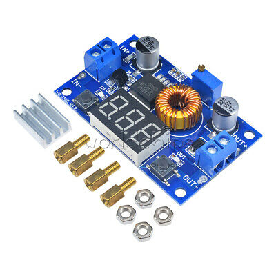 5a Adjustable Power Cccv Step-down Charge Module Led Driver With Red Voltmeter
