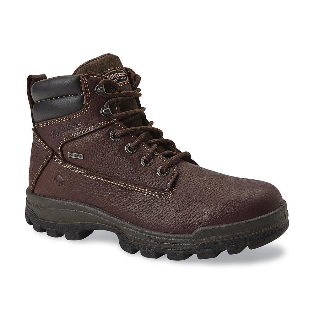craftsman men's soft toe leather work boot kahn