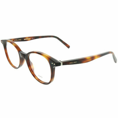 Celine Twig Square CL 41407 05L Havana Plastic Square Eyeglasses 47mm