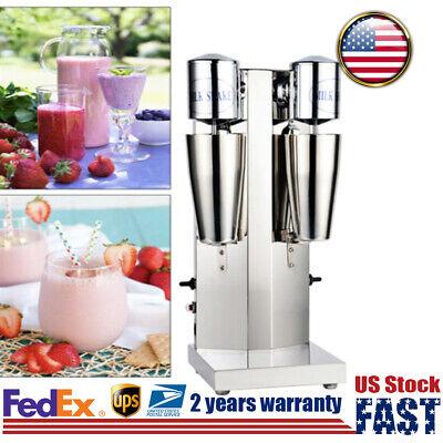Drink Mixer Double Head Milkshake Machine Milk Tea Blender Commercial 18000rmp