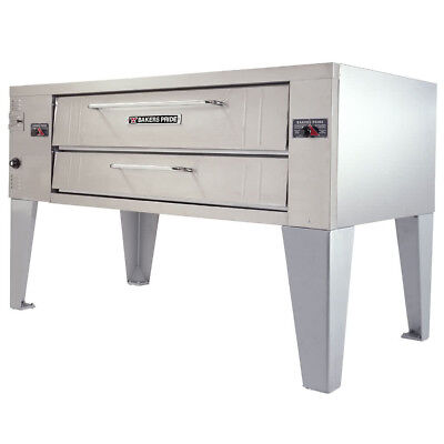 New Bakers Pride Pizza Oven Y-600 Single With Legs Natural Gas - Make Offers