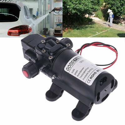 12 Volt Dc Water Pump Diaphragm Self Priming Sprayer Rv Camper Lawn Boat Shower