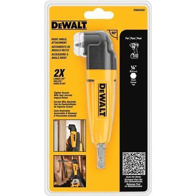 Dewalt Right Angle Drill Adapter Tight Spaces Drills Attachment Dwara50