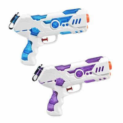 2 Wasserpistolen für Kinder Sommer Spielzeug für Party, Strand, Outdoor, Pool Outdoor-spielzeug Für Kinder