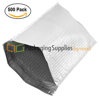 "500 #000 4X8 PSBM® POLY BUBBLE LINED MAILERS PADDED ENVELOPES 4"" X 8"""
