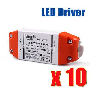 LED Driver 12V 15W Constant Voltage Power Supply Transformer for Lamp MR16 Hot