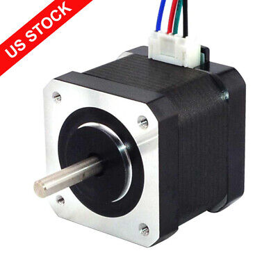 Us Ship Nema 17 Stepper Motor 64oz.in 1.5a Diy Cnc Robot 3d Printer 4 Wires