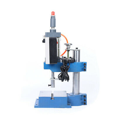 110v Pneumatic Press Machine Small Desktop Punch Machine High Efficiency 500kg