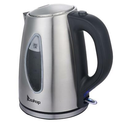 1500W Electric Tea Kettle Coffee Pot Hot Water Fast Boil Sta
