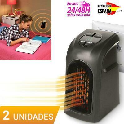 PACK DE 2 CALEFACTOR ELECTRICO PORTATIL ESTUFA ELECTRICA TIPO HANDY HEATER