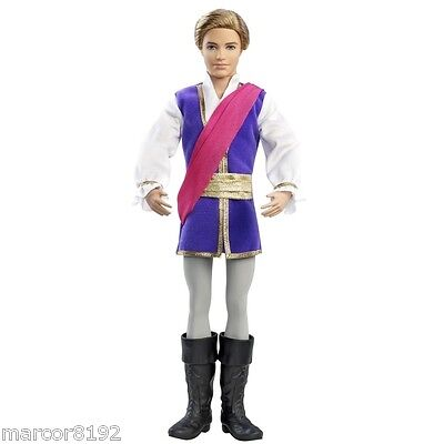 Barbie in the Pink Shoes Ken as Prince Siegfried Doll New