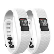 Garmin Vivofit 3 Activity Tracker Fitness Band - Regular Fit (2x) White (010-016