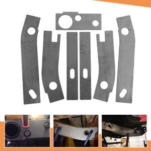 Charming Fit For 1986 1995 Jeep Wrangler YJ Rear Frame Repair Rusted Shackle Weld  Plate