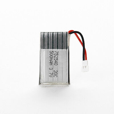 3.7V 500mAh 20C LiPo Battery for Syma X5C X5 Explorers Quadrocopter with PCB