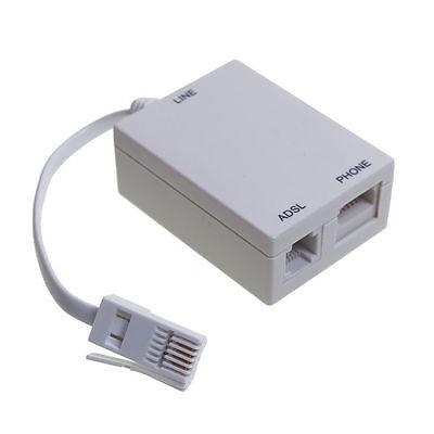 ADSL Micro Filter Broadband BT Telephone Phone Microfilter Splitter Sky TalkTalk