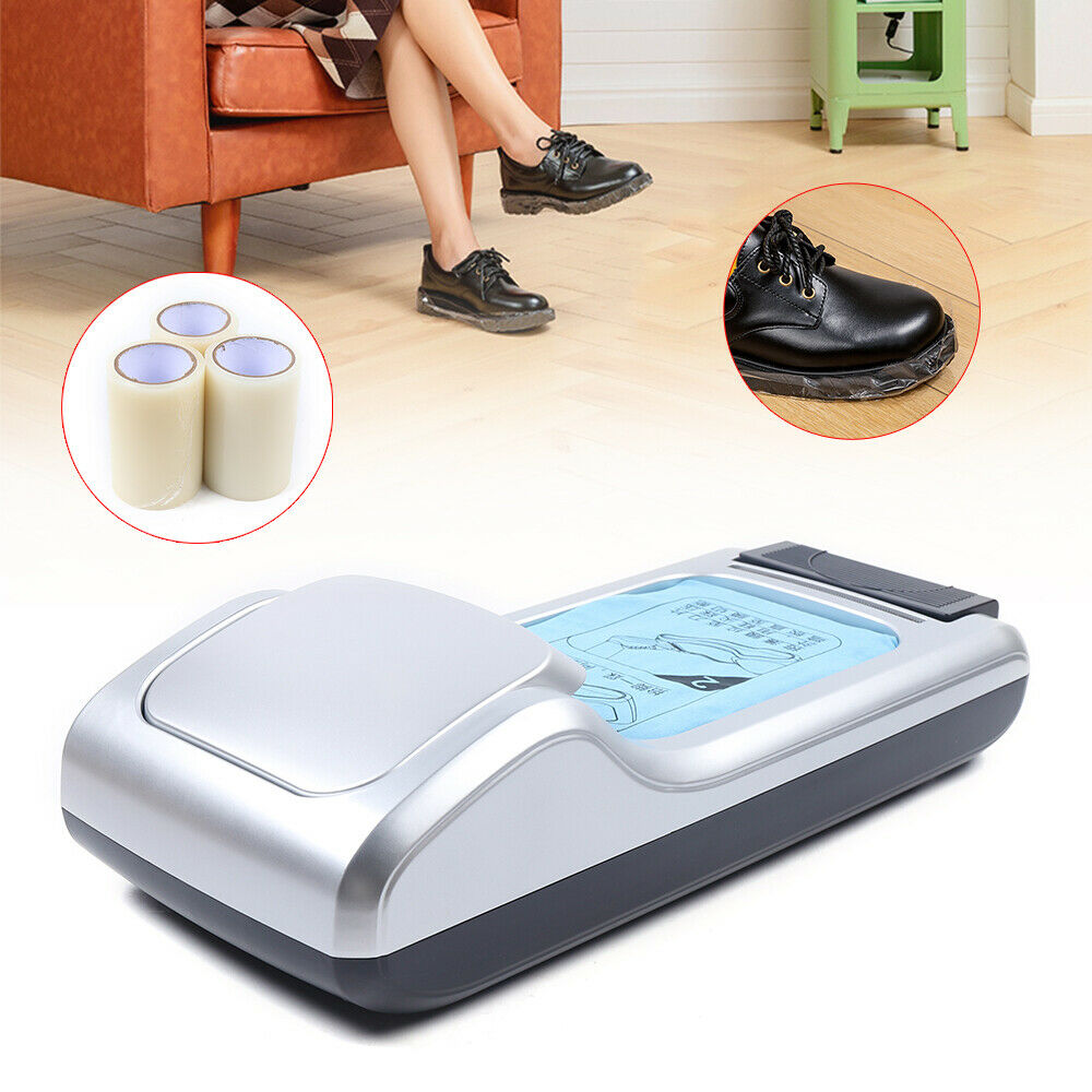 1 Roll Automatic Shoe Cover Film Dispenser Special Shoe Film Available