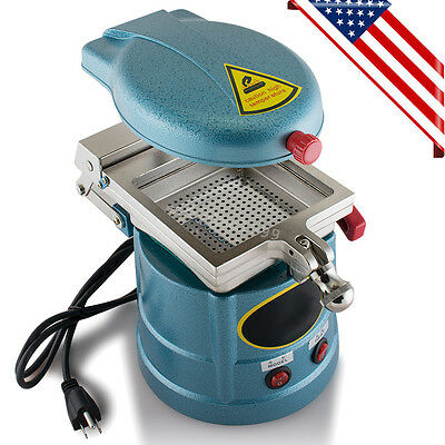 US* Dental Vacuum Departed Molding Machine Former Heat Thermoforming Lab Equipment