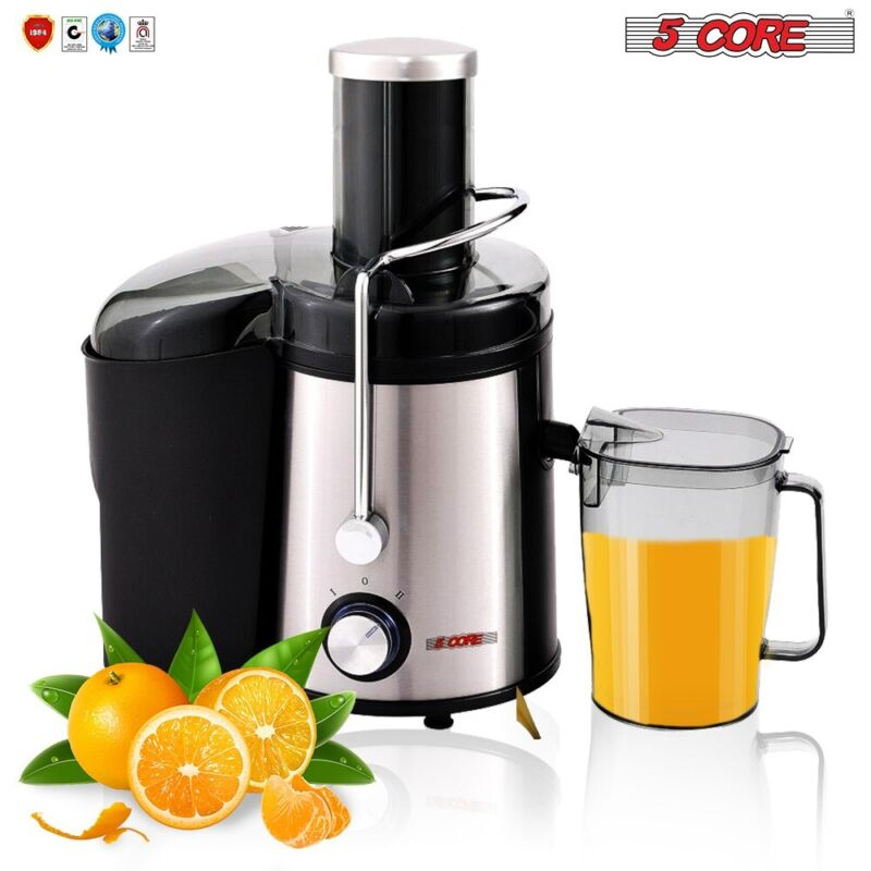 5 Core LARGE Electric Juicer Extractor Citrus Machine Blender Fruit 800W 2 Speed