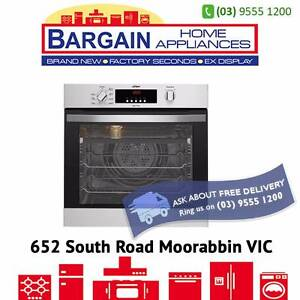 CHEF CVEP604SA MULTIFUNCTION PYROLYTIC STAINLESS STEEL OVEN Moorabbin Kingston Area Preview