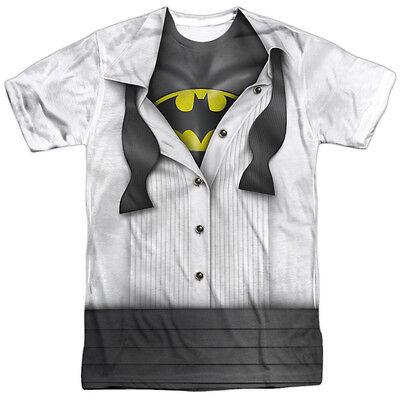 Batman I'm Batman Bruce Wayne Tuxedo Costume Sublimation Poly Tee Shirt S-3XL