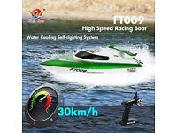 feilun ft009 2.4G 4CH Water Cooling High Speed Racing RC Boat Remote Control