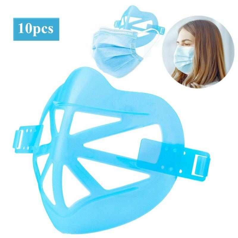 Inner Support cool Turtle Frame Face Bracket Lipstick Protector US10Pcs 3D Mask