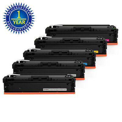 CF400X 201X Toner Cartidge for HP Color Laser Jet Pro M252dw MFP M277dw 5