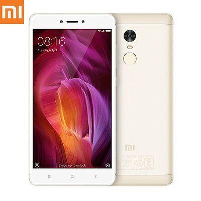 Xiaomi Redmi Note 4X 16Gb 3Gb Unlocked Smartphone Gold Uu