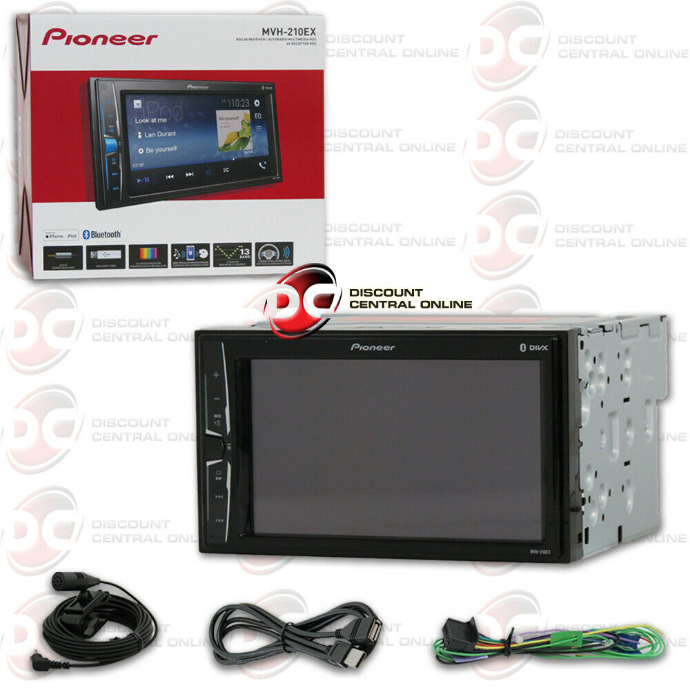 "2018 PIONEER CAR DOUBLE DIN 6.2"" TOUCHSCREEN USB DIGITAL MED"