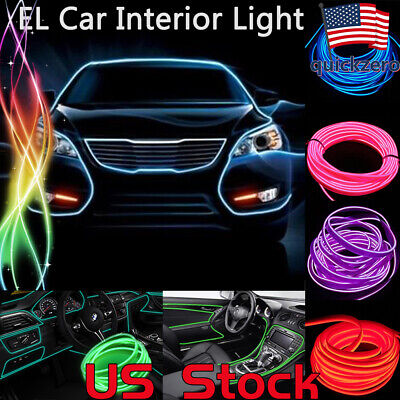 2M 3M 5M LED Car Automotive  Interior Light EL Cosplay Decoration Glowing Wire](El Wire Cosplay)